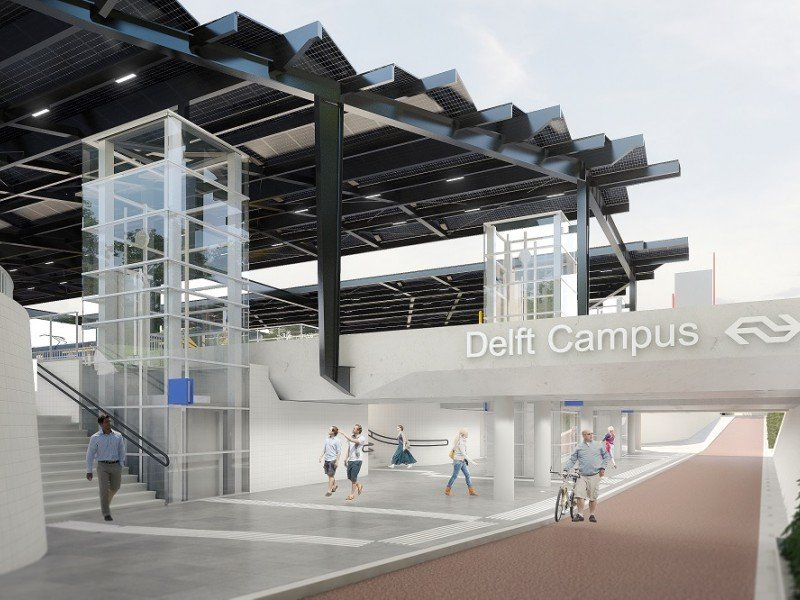 Kick-off Station Delft Zuid | Energie neutraal